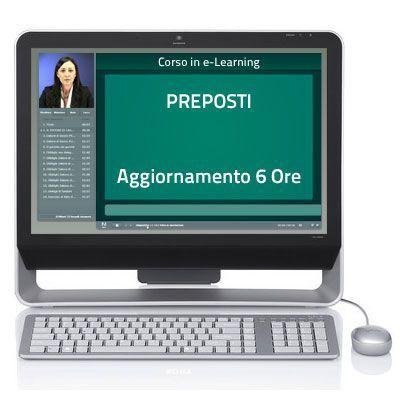 Corso Corso online - Preposti - Aggiornamento giuridico - 6 ore