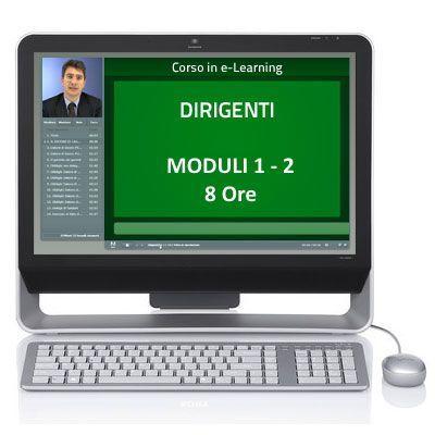Corso Corso online - Dirigenti - Sicurezza sul lavoro - Moduli 1 e 2 - 8 ore