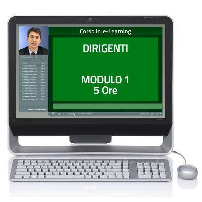 Corso Corso online - Dirigenti - Sicurezza sul lavoro - Modulo 1 - 5 ore