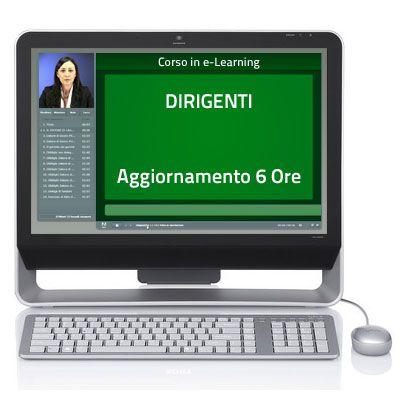 Corso Corso online - Dirigenti - Aggiornamento quinquennale - 6 ore